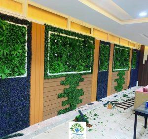 عشب جدارى 3D بجدة