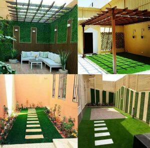 تصميم حدائق مكة